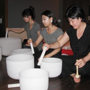 Sound Healing with Singing Crystal Bowls Workshop, In Person, June 5, 10 am – 5 pm