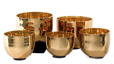 Precious Metals Singing Crystal Bowls