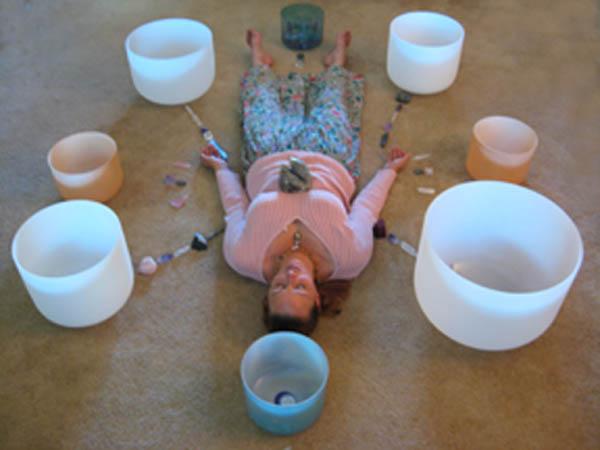Sound healing with singing crystal bowls workshop
