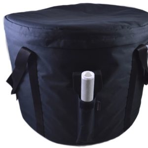 Extra Large, Heavy Duty Bowl Carrying Case
