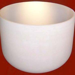 Five Chakra Starter Set of Frosted Singing Crystal Bowls