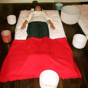 Singing Crystal Bowl Sound Healing Session: 60 Minutes